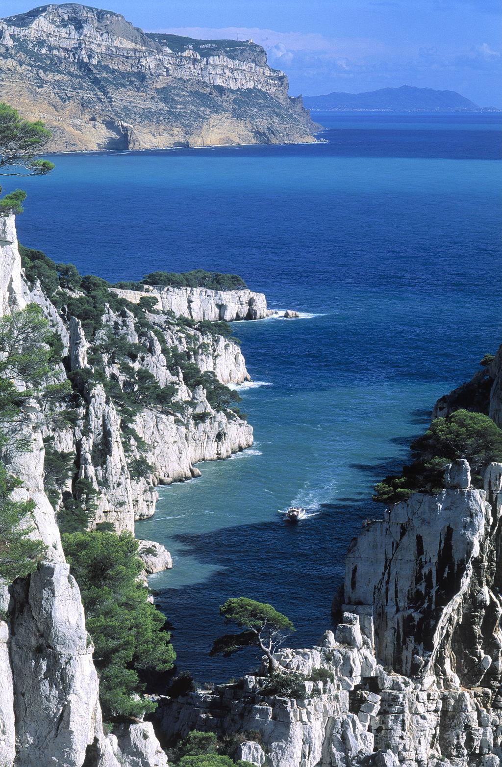 Calanques tourismus marseille viamichelin for Viamichelin marseille