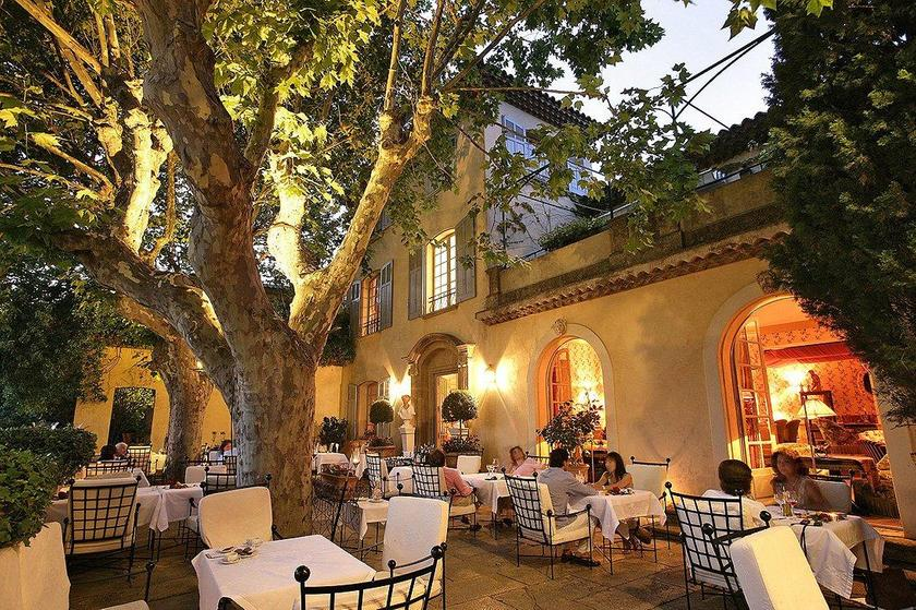 villa gallici aix en provence un restaurant du guide michelin. Black Bedroom Furniture Sets. Home Design Ideas