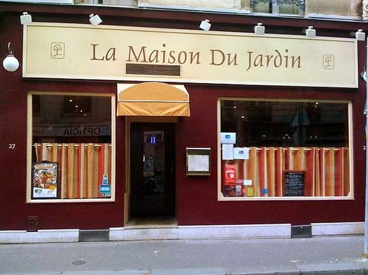 la maison du jardin paris a michelin guide restaurant. Black Bedroom Furniture Sets. Home Design Ideas
