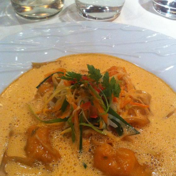 L 39 inattendu paris 15 ristorante della guida michelin for Intuition gourmande paris