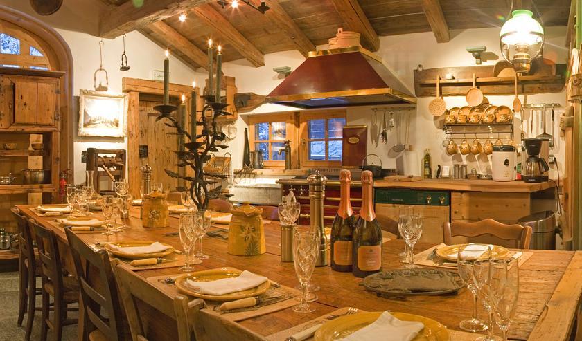 Les chalets de philippe la joux a michelin guide restaurant Les chalets de philippe chamonix