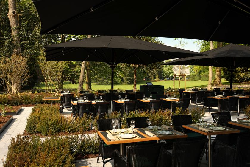 Le jardin les cray res cormontreuil a michelin guide for Restaurant reims le jardin