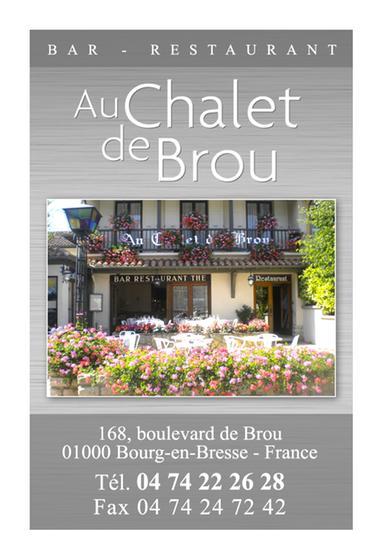 Chalet de brou bourg en bresse a michelin guide restaurant - Cuisine bourg en bresse ...