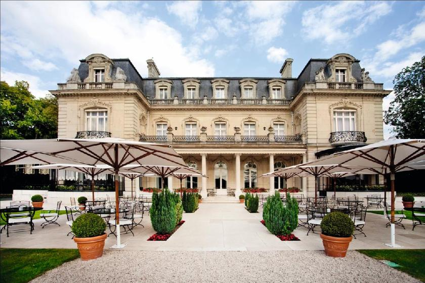 Le parc les cray res cormontreuil a michelin guide for Restaurant reims le jardin