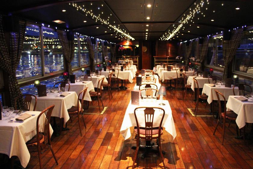 Bateau Restaurant Croisiere Paris Dejeuner