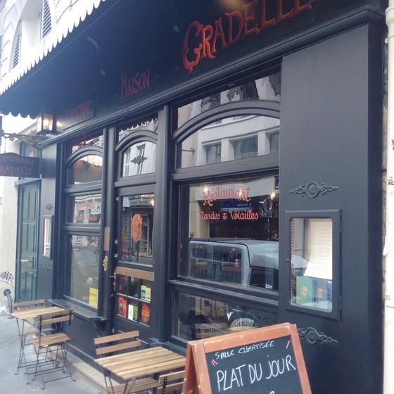 L 39 ancienne maison gradelle restaurant 8 rue du faubourg for Ancienne maison gradelle