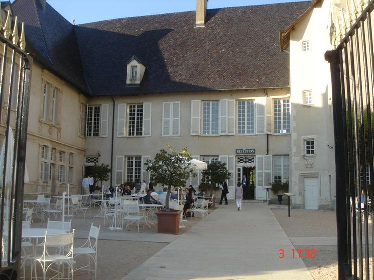Ch teau de pizay saint jean d 39 ardi res ein guide michelin restaurant - Restaurant chateau de pizay ...