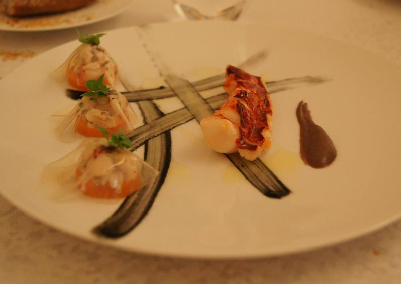 Sur mesure par thierry marx parijs restaurant uit de michelin gids - Restaurant thierry marx cuisine moleculaire ...