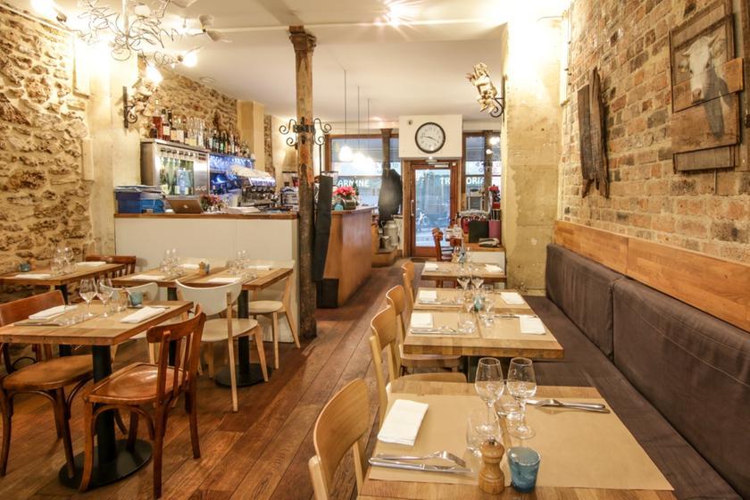 La table des anges restaurant 66 rue des martyrs 75009 for Restaurant le miroir rue des martyrs