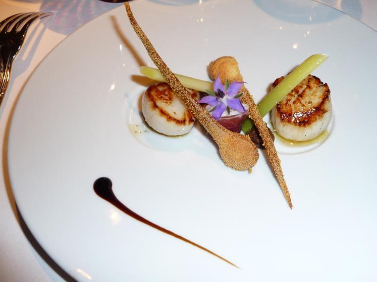 Les c dres cl rieux un restaurant du guide michelin - Les cedres restaurant granges les beaumont ...