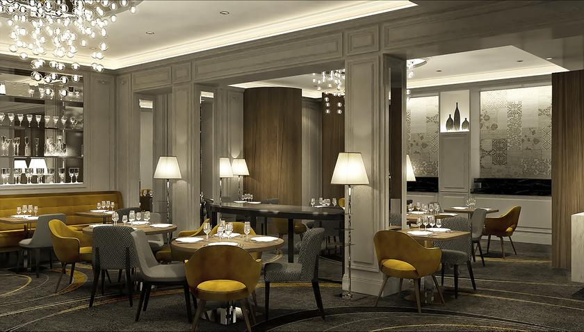 La table du baltimore neuilly sur seine a michelin for Best private dining rooms in baltimore