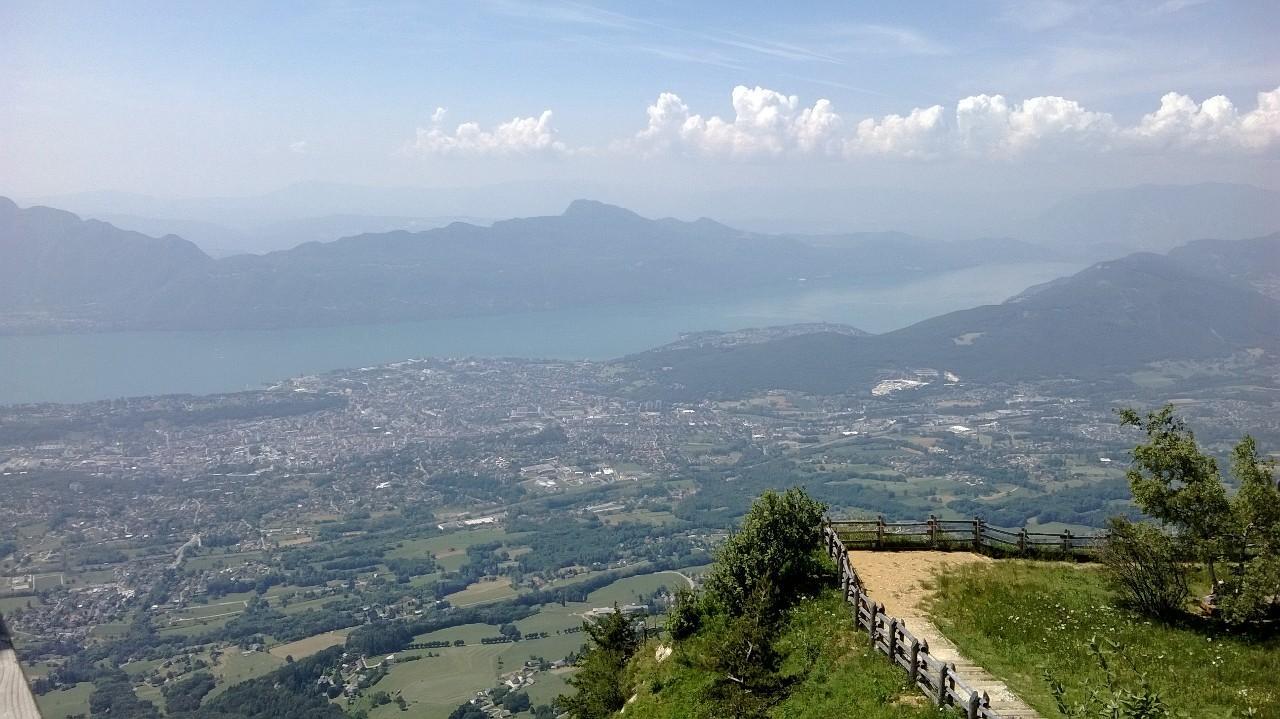 Panorama Vom Mont Revard Tourismus Mouxy Viamichelin