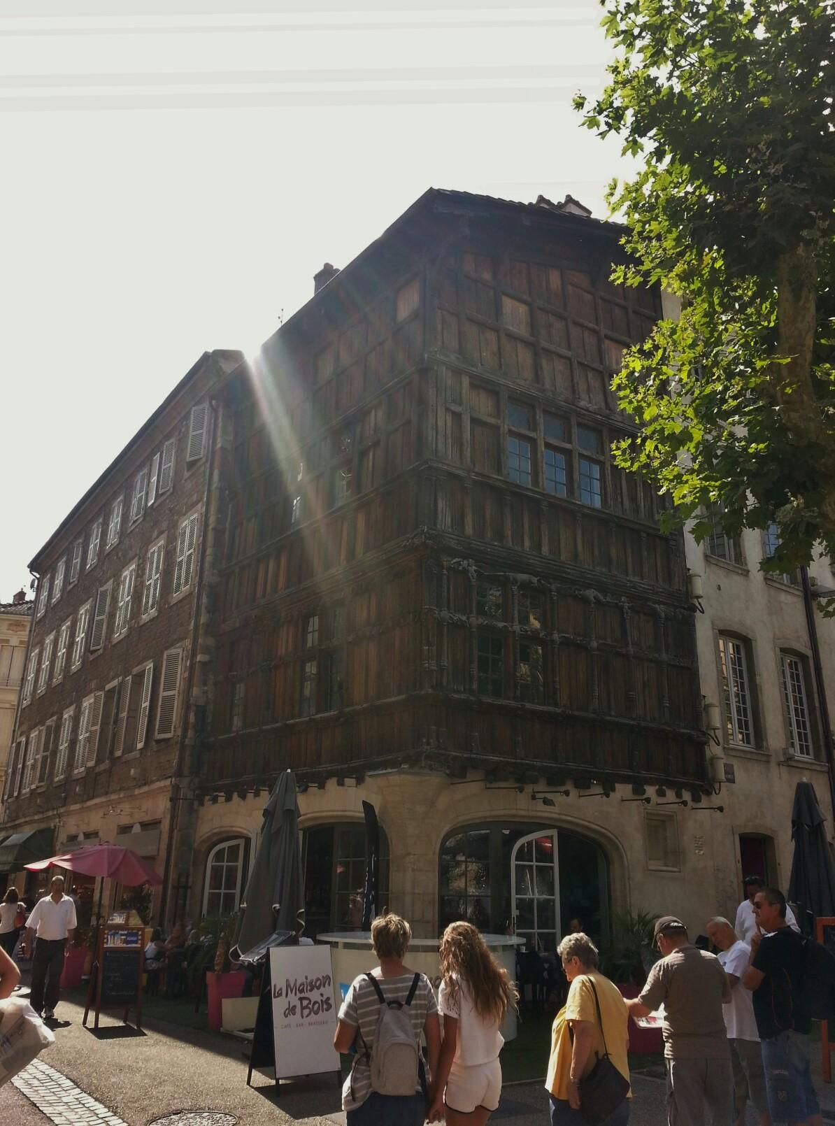 Maison de bois turismo m con viamichelin - La maison de bois macon ...