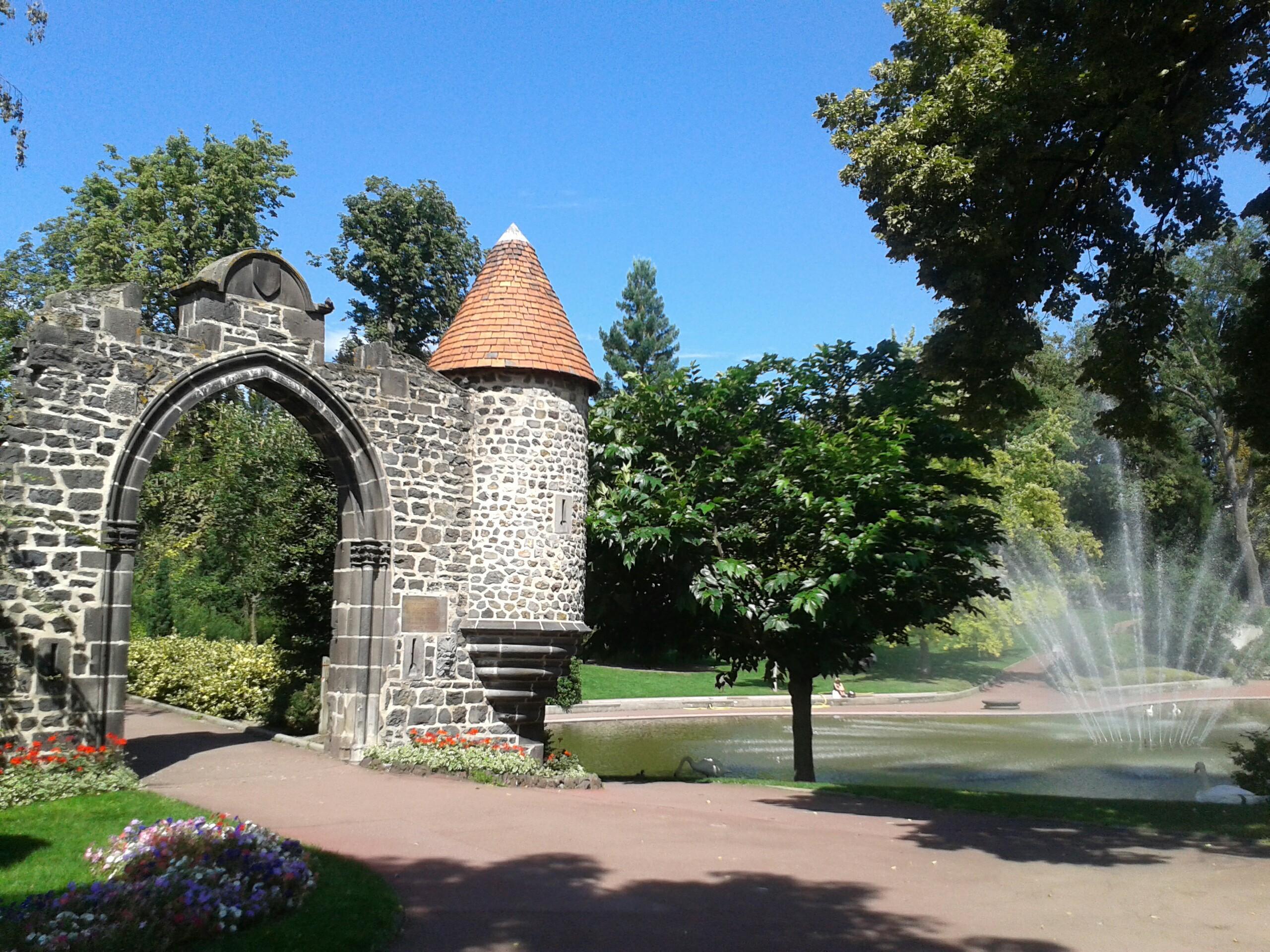 Jardin Lecoq Turismo Clermont Ferrand Viamichelin