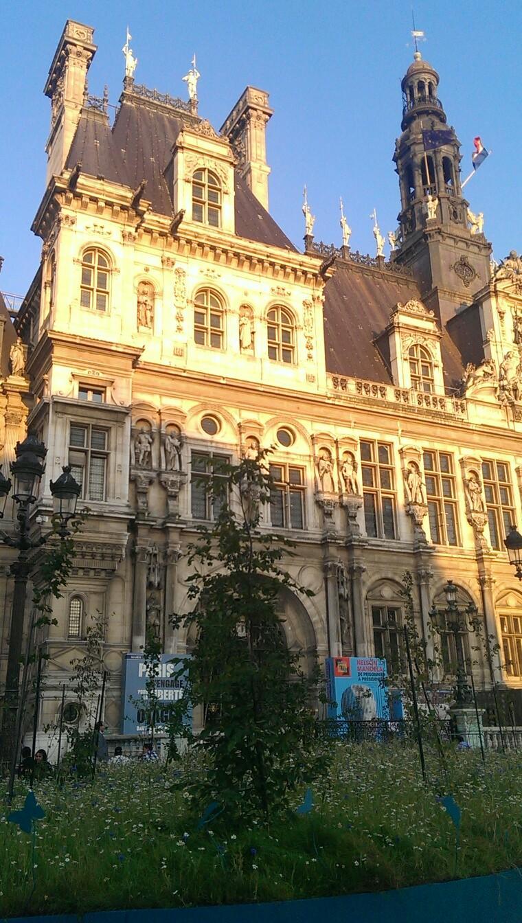 H tel de ville tourisme paris viamichelin for Michelin hotel france