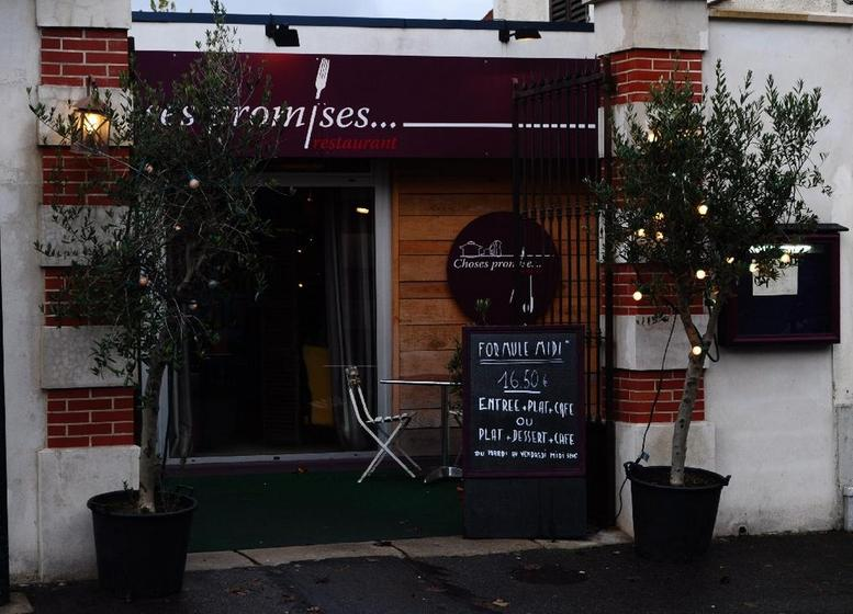 Restaurant Choses Promises Saint Maur