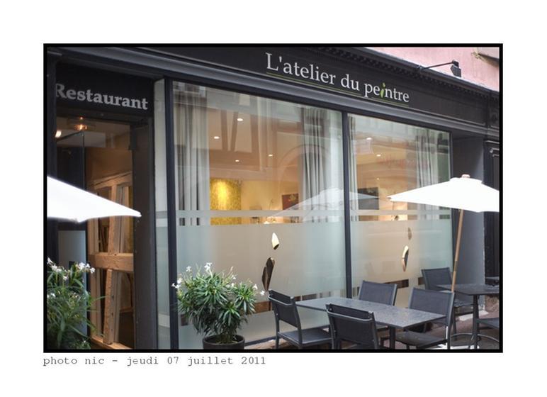 l 39 atelier du peintre restaurant 1 toile michelin 68000. Black Bedroom Furniture Sets. Home Design Ideas