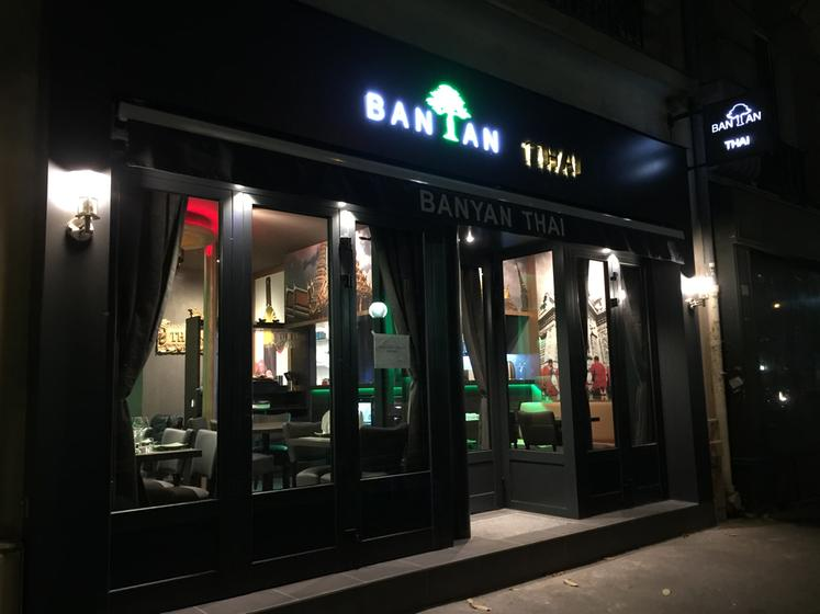Restaurant Thai Banyan Paris