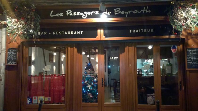 Restaurant Libanais Les Passagers De Beyrouth Paris